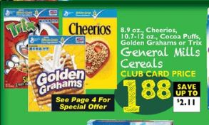 Foodtown Cheerios