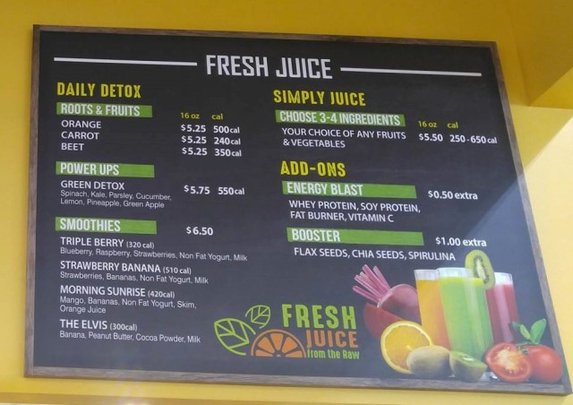 Juice Bar Bell Farms