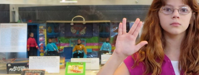 A Mego Star Trek bridge playset.  I had one... the figures are in a shoebox somewhere in my house.