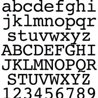 Bitstream-Courier-1990-AppleSystemFont