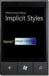 ImplicitStyles