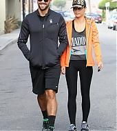 Jesse Metcalfe and Cara Santana on September 18, 2013