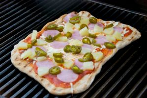 Grilled Pizza… on Homemade Dough