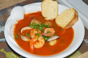 Shrimp and Clam Cioppino