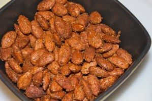 Sweet 'n Spicy Roasted Almonds