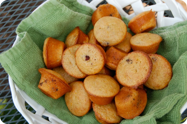Cranberry Clementine Mini Muffins