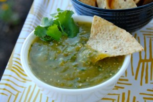 SRC: Roasted Tomatillo Salsa Verde