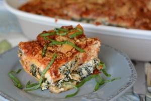 SRC: Italian Sausage and Kale Lasagna