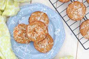 Piña Colada Oatmeal Muffins