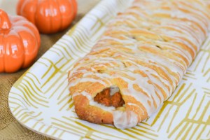 Pumpkin Cheese Danish Braid