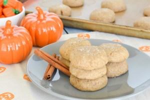 Pumpkin Spice Brown Butter Sea Salt Cookies