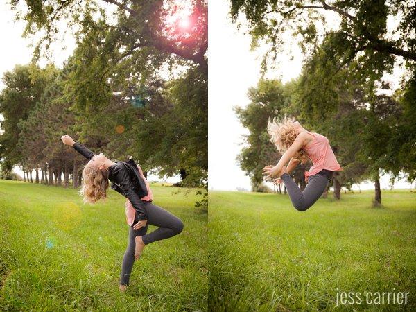 Sports Senior Portraits | Dance