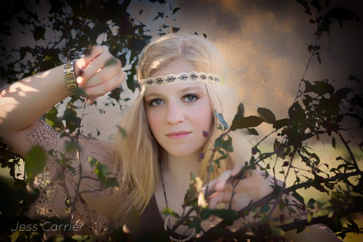 Fine Art Senior Portraits | Jess Carrier