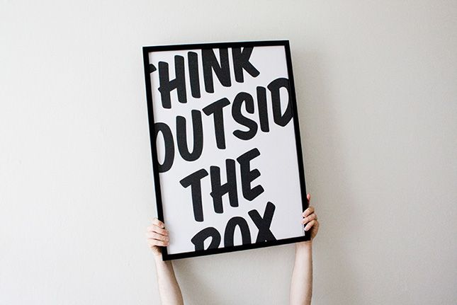 5 Inspirational Quotes - Think Outside The Box