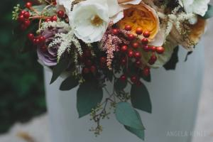 bridal bouquet - Image by: Angela Renee Photography | http://jessicadum.com/portfolio/courtney-abe/
