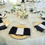 Black and Gold Tent Wedding - Image by: Meredith Rogers Photography | http://jessicadum.com/portfolio/hannah-terrence/