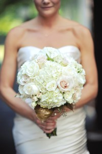 Bridal Bouquet with White Hydrangeas - Image by: Meredith Rogers Photography | http://jessicadum.com/portfolio/hannah-terrence/