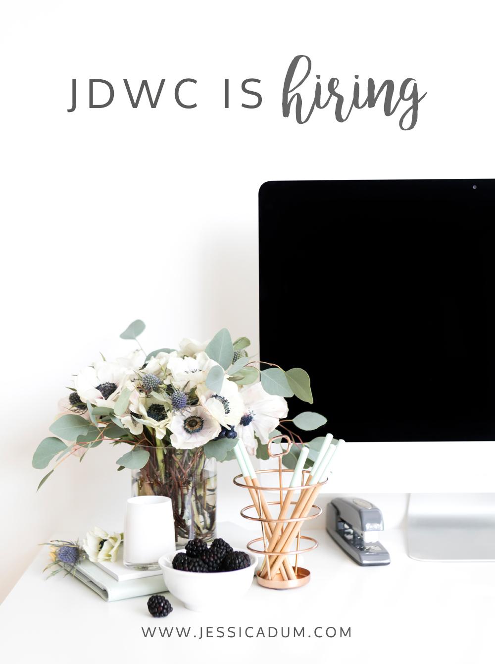 Jessica Dum Wedding Coordination is hiring | http://bit.ly/2fNUzn4