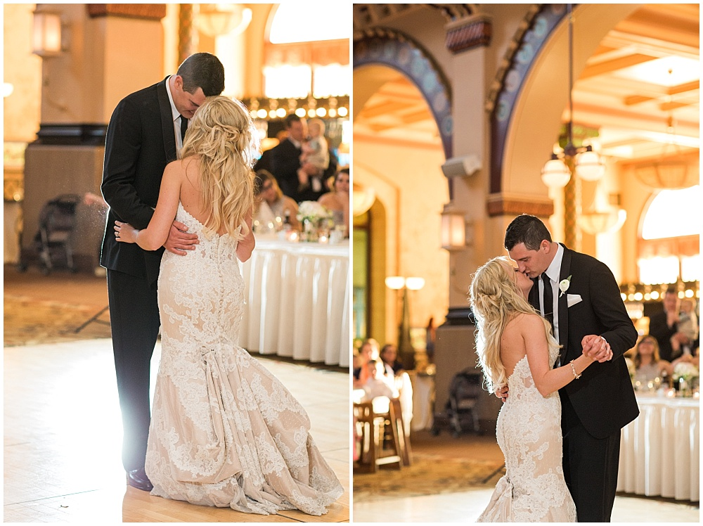 Bride and Grom First Dance | Downtown Indianapolis Wedding by Gabrielle Cheikh Photography & Jessica Dum Wedding Coordination