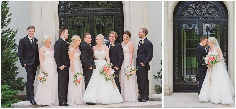 Bride and Groom estate portraits | Ritz Charles Garden Pavilion Wedding by Stacy Able Photography & Jessica Dum Wedding Coordination