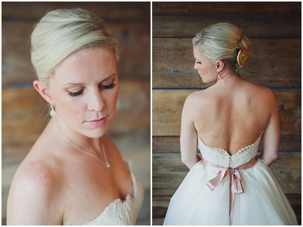 Bridal hair and makeup | Ritz Charles Garden Pavilion Wedding by Stacy Able Photography & Jessica Dum Wedding Coordination