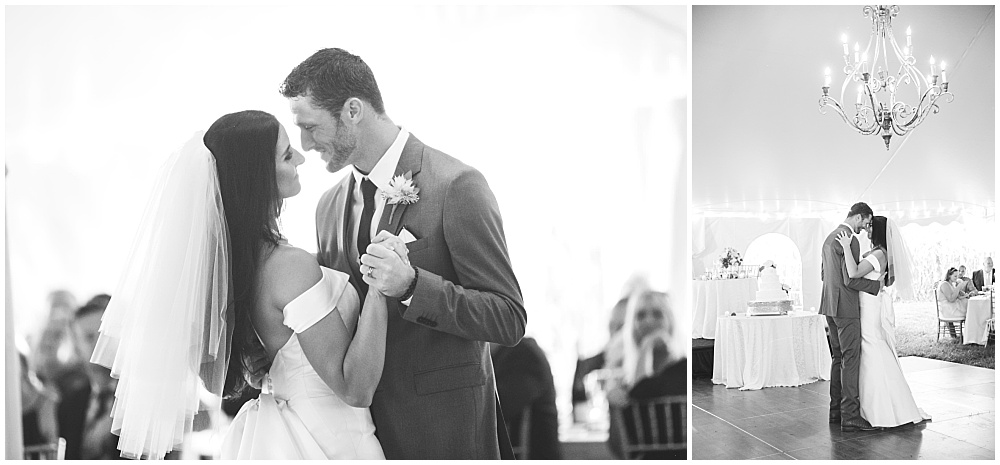 Bride and Groom first dance | Family Farm wedding by SB Childs Photography & Jessica Dum Wedding Coordination