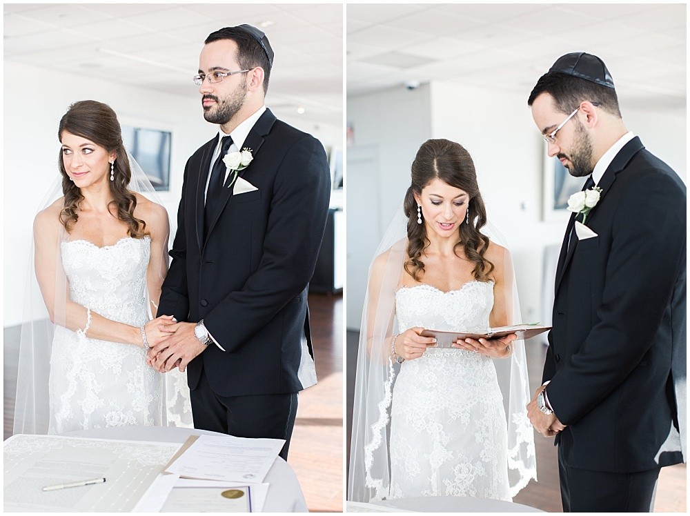Bride and Groom Ketubah ceremony | D'Amore Wedding by Ivan & Louise Images & Jessica Dum Wedding Coordination