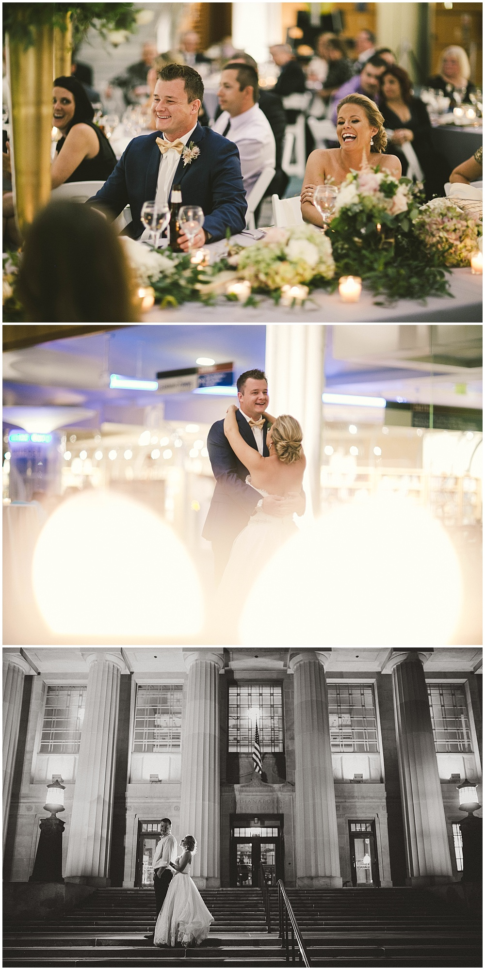 Library Wedding | Indianapolis Central Library Wedding by Jennifer Van Elk Photography & Jessica Dum Wedding Coordination