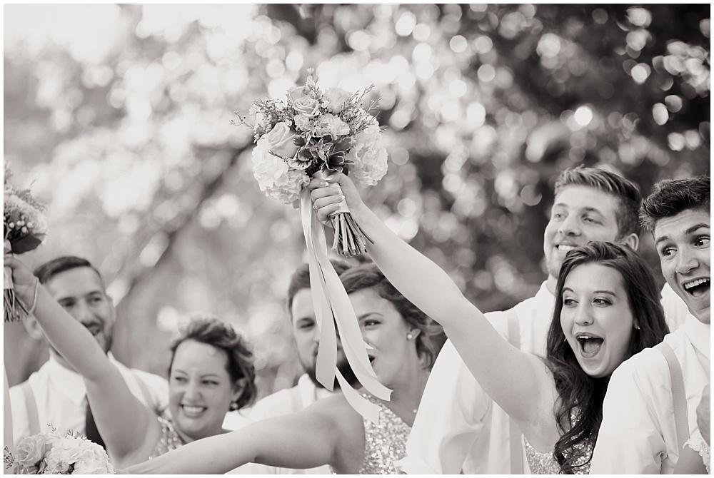 Bridal Party fun | Mustard Seed Gardens Wedding by Sara Ackermann Photography & Jessica Dum Wedding Coordination