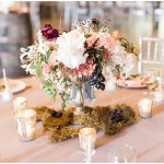 moss centerpiece, rustic barn wedding, ellie + tyler, ivan and louise images, jessica dum wedding coordination