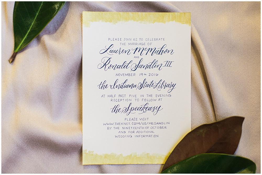 gold wedding invitation | Ivan & Louise Images and Jessica Dum Wedding Coordination
