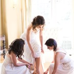 Bride getting ready   Laurel Hall wedding with Ivan & Louise Images + Jessica Dum Wedding Coordination