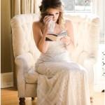 Bride reading her vows   Laurel Hall wedding with Ivan & Louise Images + Jessica Dum Wedding Coordination