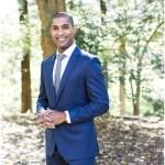 Navy grooms suit   Laurel Hall wedding with Ivan & Louise Images + Jessica Dum Wedding Coordination