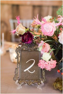 Rustic table numbers | Ivan & Louise Images and Jessica Dum Wedding Coordination