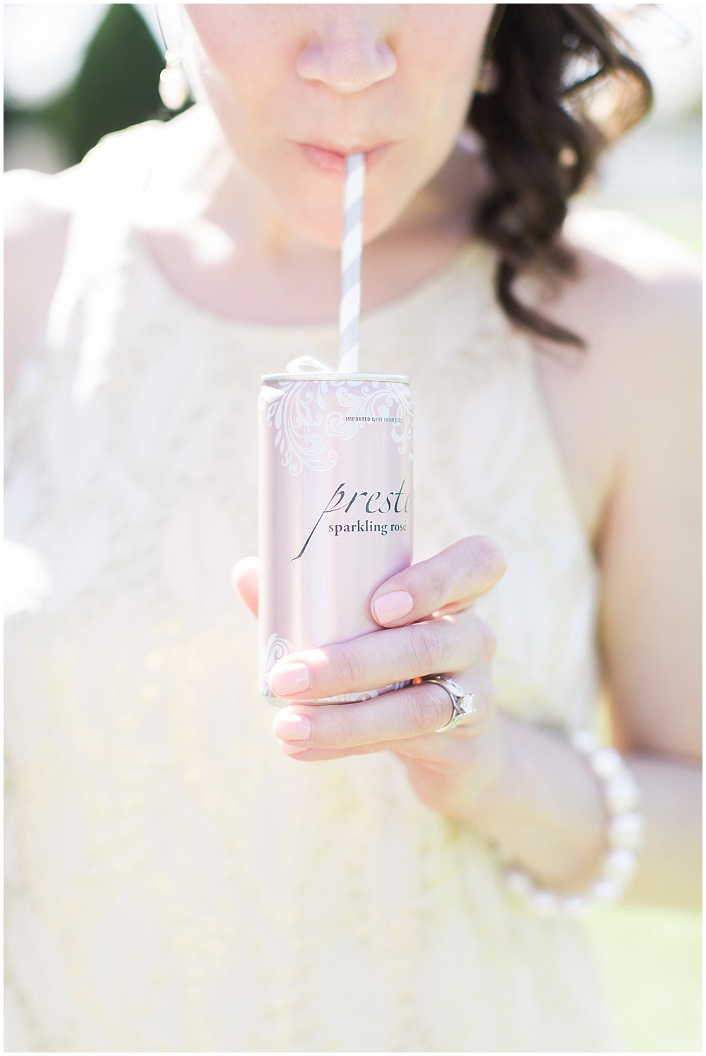 sparkling wine, navy and pink southern wedding | Ivan & Louise Images and Jessica Dum Wedding Coordination