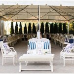 Wedding lounge seating, navy and pink southern wedding | Ivan & Louise Images and Jessica Dum Wedding Coordination