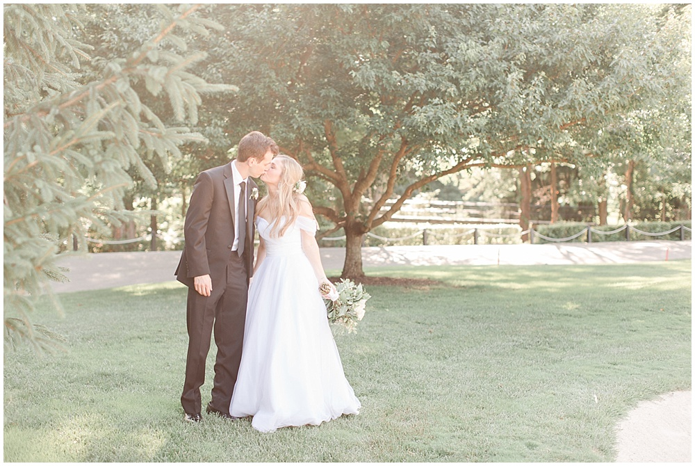 bride and groom portraits; woodstock country club wedding | Sami Renee Photography + Jessica Dum Wedding Coordination