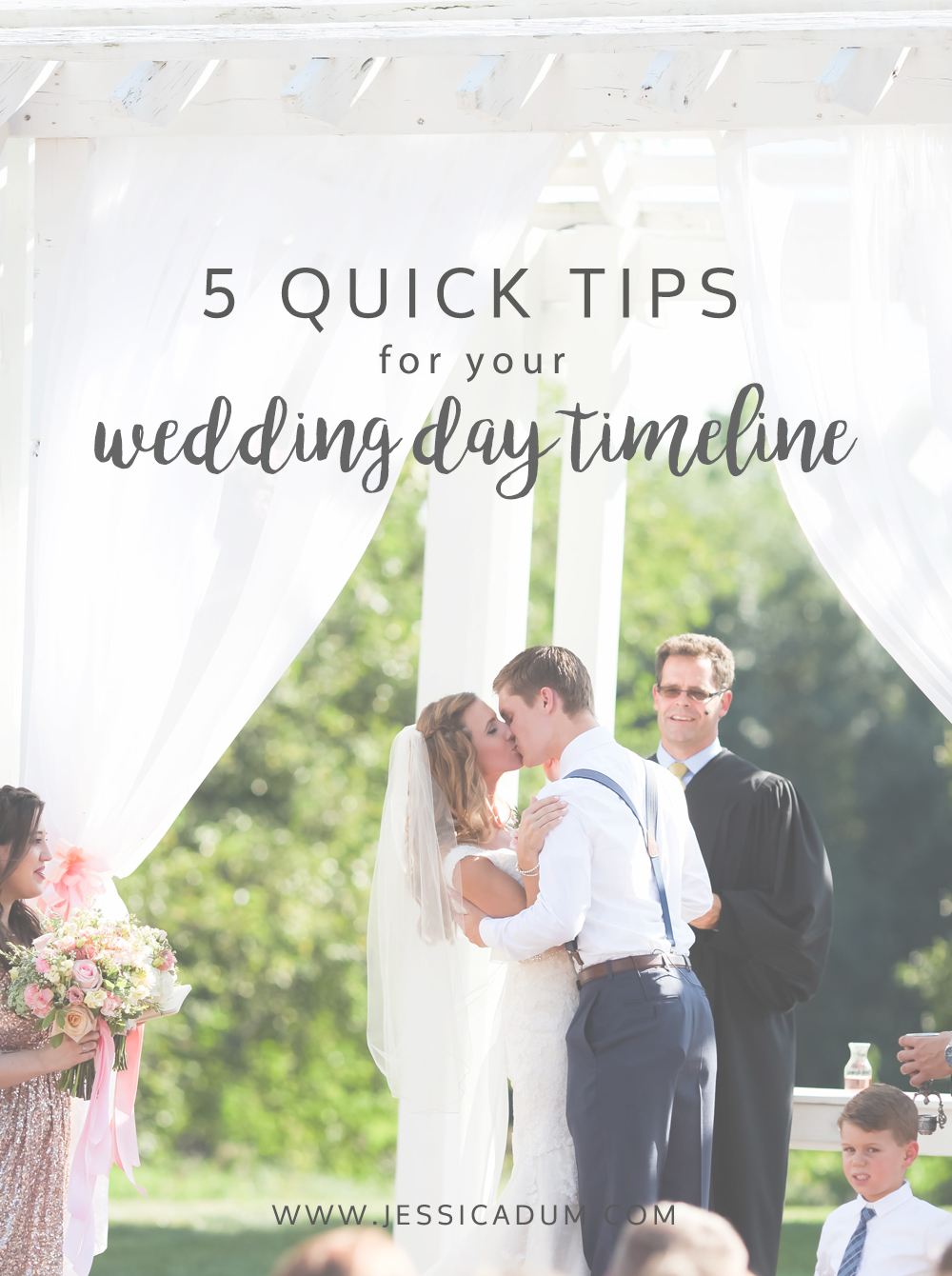 5 Quick Tips for your Wedding Day Timeline; wedding day timeline tips; quick wedding timeline tips