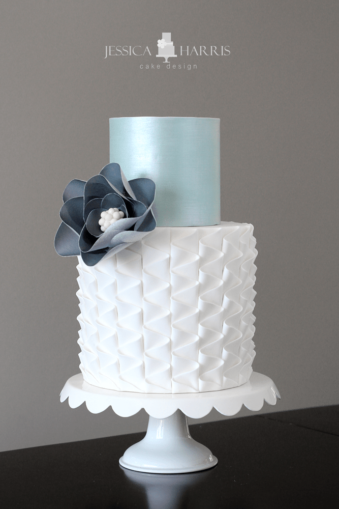 Clean Simple Cake Design With Jessica Harris : Learn over 20 Elegant Cake Textures Now!! - Jessica Harris
