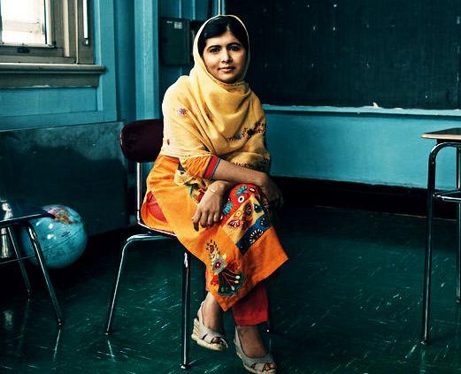 Jon Stewart Speechless by Malala