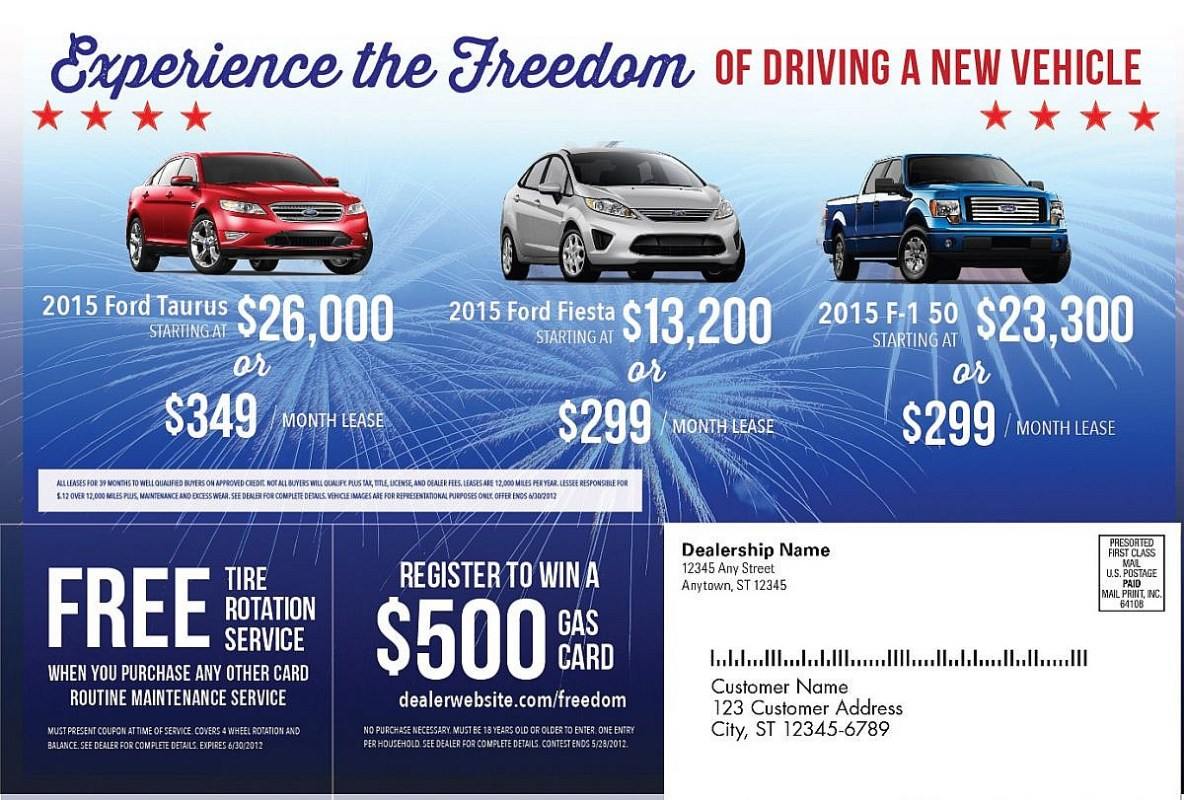New Car Dealership Advertising Campaigns