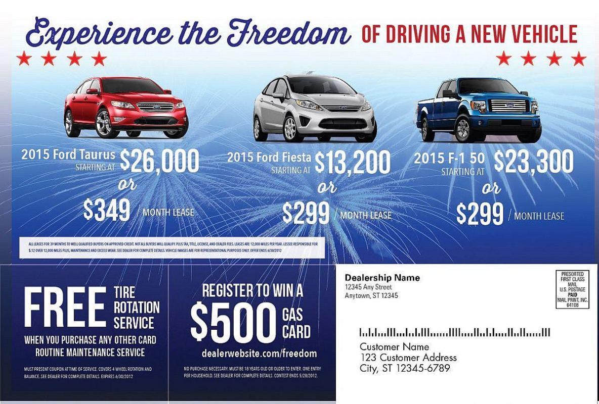 Car Dealership Ads