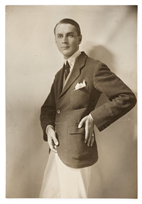 Nils Dardel i Tokyo, 1917 © Riksarkivet, Thora Dardel Hamiltons arkiv 4 ab:3. Fotograf: Okänd