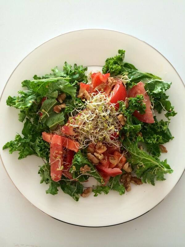 kale salade