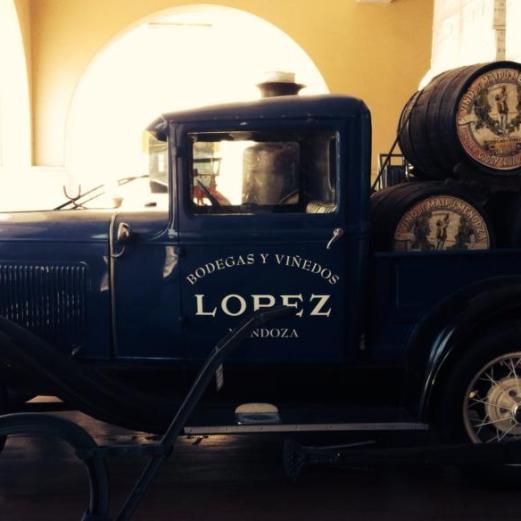 Bodega Lopez delivery truck