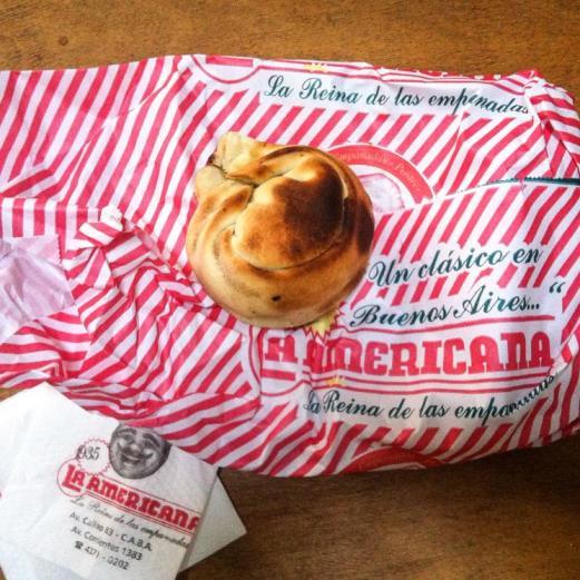 La americana empanada - Buenos Aires