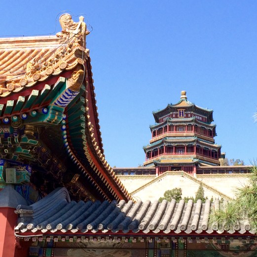 Summer Palace rooftops 2