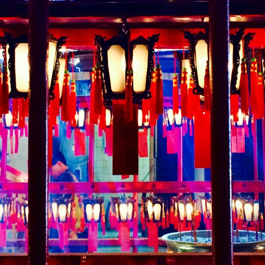 lanterns in temple