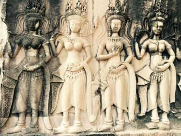 Angkor detail ladies